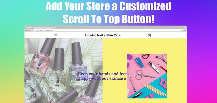 custom-scroll-to-top